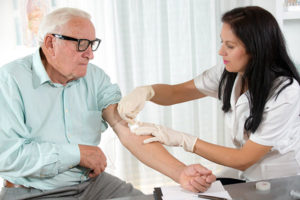 The most common answer to 'how is type 2 diabetes diagnosed' is an A1C blood test